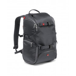 TRAVEL BACKPACK- SAC A DOS P/REFLEX + POCHE TREPIED - GRIS REF MB MA-TRV-GY