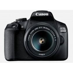 CANON EOS 2000D + OBJECTIF EF-S 18-55MM F/3.5-5.6 IS II