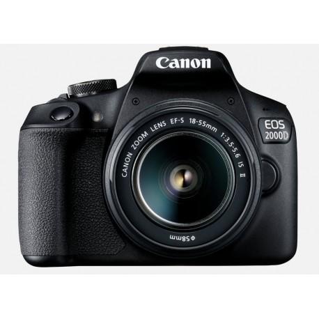 CANON EOS 2000D + OBJECTIF EF-S 18-135MM 3.5-5.6 IS II