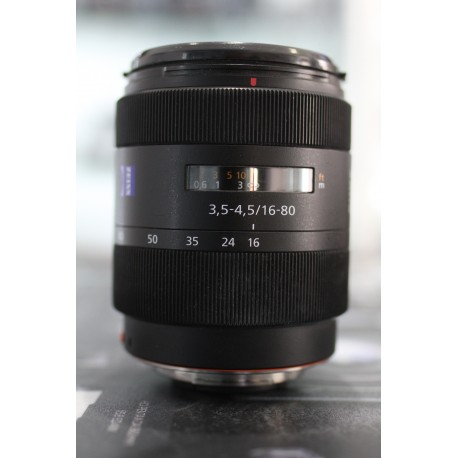 SONY VARIO SONNAR DT 16-80MM F/3.5-4.5 CARL ZEISS